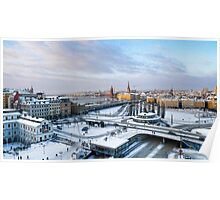 Slussen Winter Wonderland Poster