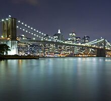 Brooklyn Bridge at Night 7 by BlackRussian