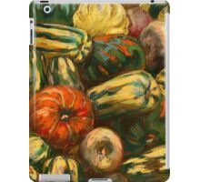 Still life with colorful pumpkins iPad Case/Skin