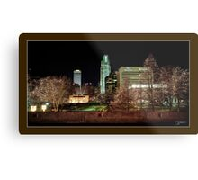 Downtown Omaha, Nebraska Metal Print
