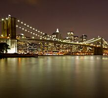 Brooklyn Bridge at Night 10 by BlackRussian