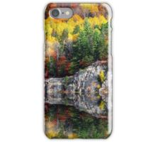 Fall along the river iPhone Case/Skin
