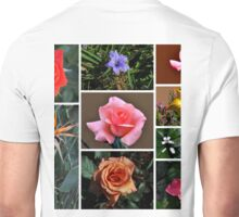 SPRING FLORAL COLLAGE Unisex T-Shirt
