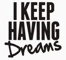 I Keep Having Dreams - Frank Turner Lyrics T-Shirt by robbclarke
