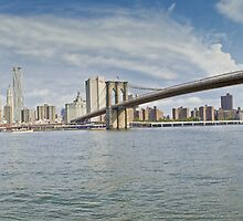 Downtown Manhattan Panorama 2 by BlackRussian