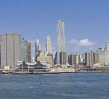 Downtown Manhattan Panorama 4 by BlackRussian