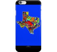 TEXAS STATE, Colorful Texas State cities, Fun Texas State icons, Texas State facts and everything about TEXAS State and Texas art iPhone Case/Skin
