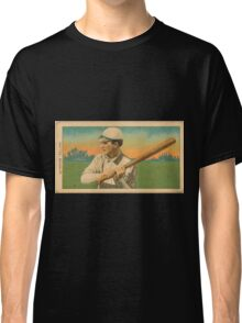 Benjamin K Edwards Collection Harry Pattee Brooklyn Superbas baseball card portrait Classic T-Shirt
