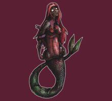 Zombie Princesses - Ariel by MarcLothsArt