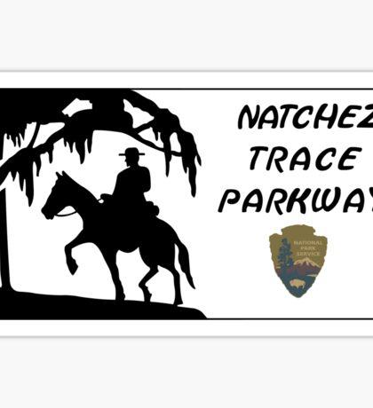 Natchez Trace Parkway Sign, USA Sticker