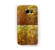 Frozen Gold Glitter Bubbles Samsung Galaxy Case/Skin