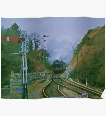 6695 at Corfe Castle Poster