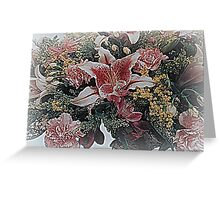 An outstretched of blessings... Greeting Card