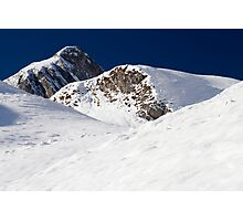 Winter in the Alps Photographic Print