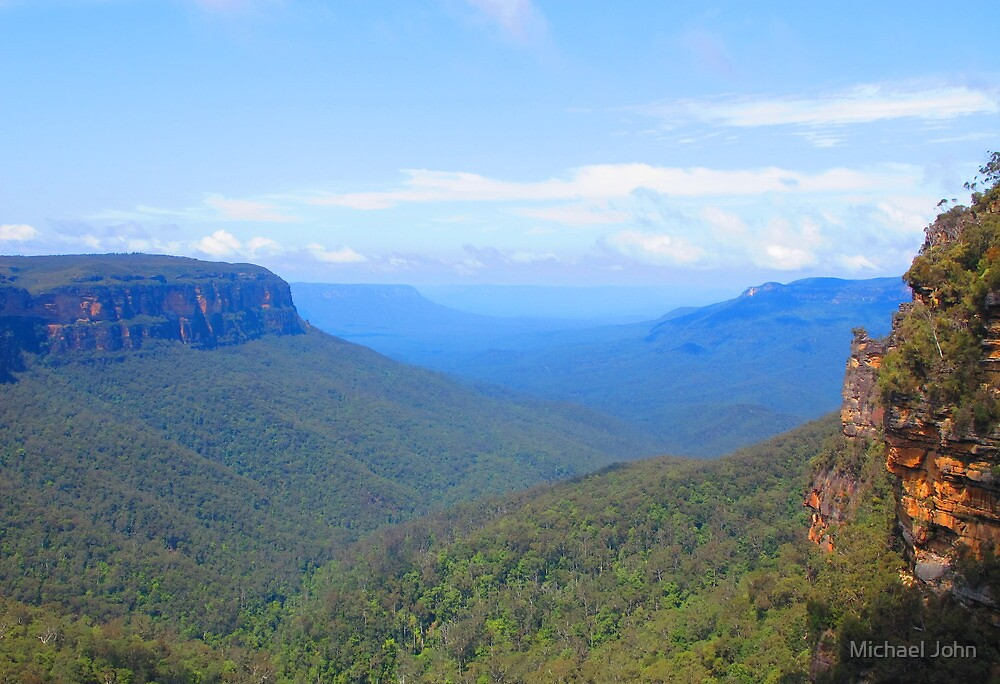 The Blue Mountains by Michael John