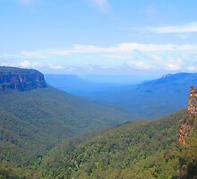 The Blue Mountains by Michael Vickery