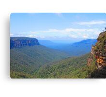The Blue Mountains Canvas Print