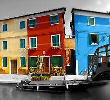 Burano, Venice Italy - 1 by Paul Williams