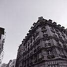 Paris, Black and white building by busteradams