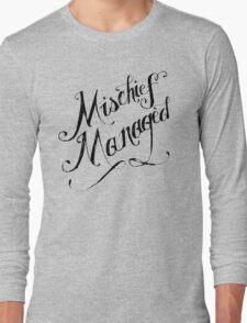 Mischief Managed Long Sleeve T-Shirt