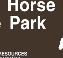 Dead Horse Point State Park Sign Sticker