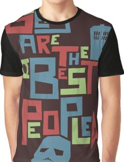 Geeks Are The Best People Graphic T-Shirt
