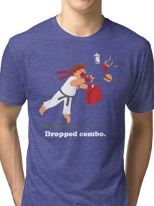 Dropped Combo Tri-blend T-Shirt