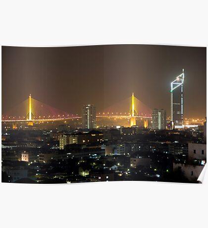 Bangkok Bridge Poster