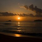 Sunrise at the beach by Philip Alexander