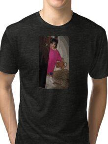 BOO'S BABY GIRL Tri-blend T-Shirt