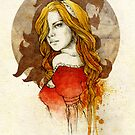 Cersei Lannister by elia, illustration