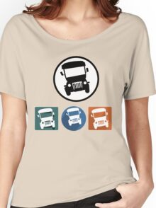 Jeepney icons Women's Relaxed Fit T-Shirt