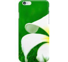 Flower on leaf - case iPhone Case/Skin