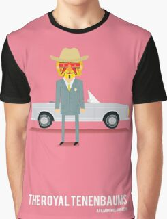 'The Royal Tenenbaums' tribute Graphic T-Shirt