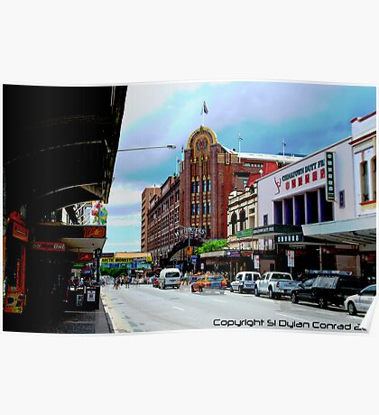 China Town, Fortitude Valley, Brisbane Poster