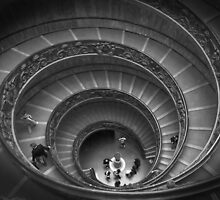 The Spiralling Staircase by quoile