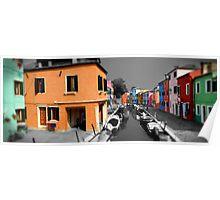 Burano, Venice Italy - 4 Poster