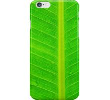 Banana green leaf - case iPhone Case/Skin