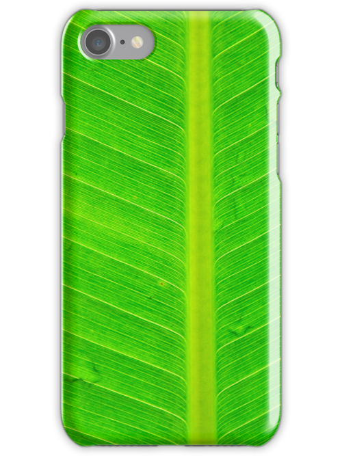Banana green leaf - case by Nhan Ngo
