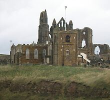 Whitby Church and Abbey by Edward Denyer