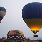 Flight of Fancy. Cappadoccia by Ron Fitzgerald
