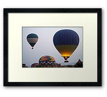 Flight of Fancy. Cappadoccia Framed Print