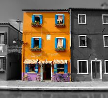 Burano, Venice Italy - 5 by Paul Williams