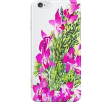 Singapore Orchids iPhone Case/Skin