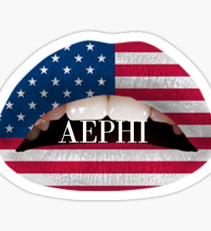 aephi lips Sticker