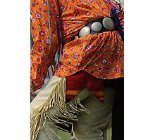 Pow Wow dancer Photographic Print