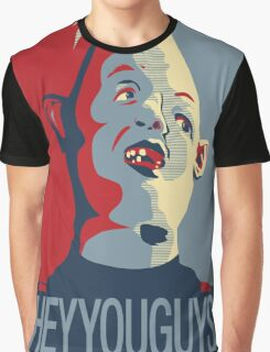"Sloth from The Goonies - ""Hey You Guys"" Graphic T-Shirt"