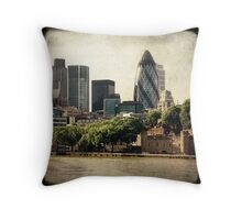 The Gherkin Throw Pillow