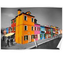 Burano, Venice Italy - 8 Poster