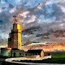 Beautiful Britain - St Catherine's Lighthouse, Ise of Wight by Dennis Melling
